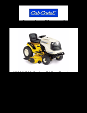 CUB CADET 1000 SERIES SERVICE MANUAL Pdf Download