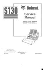 BOBCAT S130 SERVICE MANUAL Pdf Download