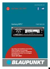 blaupunkt hamburg mp57 manuals rh manualslib com  blaupunkt 520 user manual