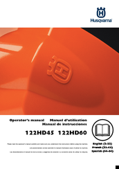 Husqvarna 122HD45 Operator's Manual