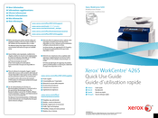 Xerox WorkCentre 4265 Quick Use Manual