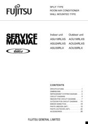 Fujitsu Inverter Halcyon Asu24rlxs Manuals