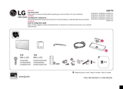 LG 32LW570H-UA Easy Setup Manual