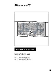duracraft dw cv610 series manuals rh manualslib com Duracraft Humidifiers for Home Duracraft Window Fans