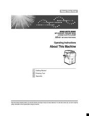 ricoh aficio mp 7000 manuals rh manualslib com Ricoh USA ricoh aficio mp 7000 service manual