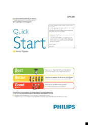 Philips 32PFL2507 Quick Start Manual