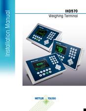 mettler toledo ind570 manuals rh manualslib com Mettler-Toledo Model 0662 Parts Manual Mettler-Toledo PS60 Manual