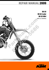 KTM 50 SX REPAIR MANUAL Pdf Download | ManualsLibManualsLib