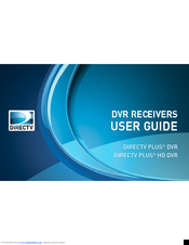 directv plus hd dvr manuals rh manualslib com DirecTV HD DVR Receiver directv genie hd dvr user manual