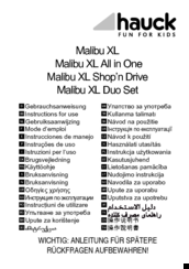 Hauck Malibu XL Instructions For Use Manual a7aba58c16