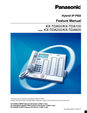 panasonic hybrid ip pbx kx tda100 manuals rh manualslib com panasonic kx-tda100 user manual panasonic kx tde100 programming manual