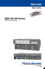 Extron DXP 168 HD 4K Matrix Switcher Driver