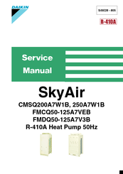 DAIKIN CMSQ200A7W1B SERVICE MANUAL Pdf Download