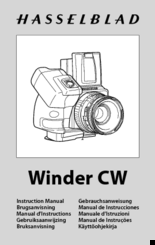 Hasselblad Winder CW Manuals