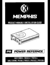 MEMPHIS PRX300 4 PRODUCT MANUAL & INSTALLATION MANUAL Pdf