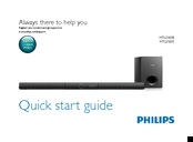 Philips HTL2183B Quick Start Manual