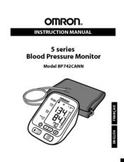 Omron Bp742cann Manuals
