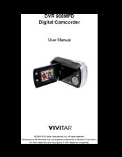 vivitar dvr 808hd manuals rh manualslib com Vivitar Action Camcorder Vivitar Action Camcorder