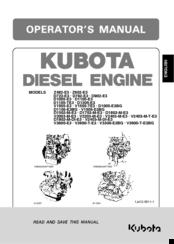 kubota d1105 e3bg manuals rh manualslib com Kubota Engines kubota d1105 engine wiring diagram