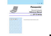 Panasonic Toughbook CF-73 Series Reference Manual