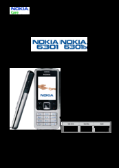 nokia 6301 rm 322 service manual pdf download rh manualslib com Nokia 8110 nokia 6301 manual