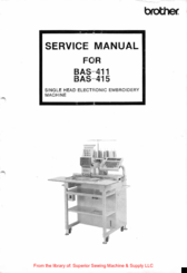 Brother BAS-415 Service Manual