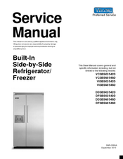 Viking Professional VCSB548D Service Manual
