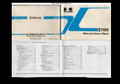 Kawasaki Z1100 Owner's Manual