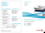Xerox WorkCentre 3225 Manuals
