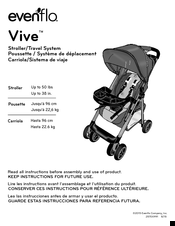 evenflo vive manuals rh manualslib com evenflo instruction manual exersaucer evenflo instruction manuals