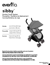 evenflo sibby manuals rh manualslib com evenflo stroller assembly Evenflo Aura Stroller Brown By
