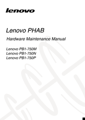 Lenovo PB1-750N Hardware Maintenance Manual