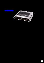 Sony xplod xm-4s slim series 4-channel car amplifier 50 watts rms.