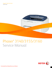 Xerox PHASER 3160 Service Manual