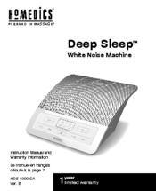Homedics deep sleep manuals.