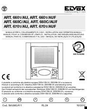 Elvox 6701 Auf Manuals