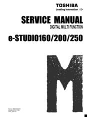 toshiba e studio 200 manuals rh manualslib com Toshiba LCD Manual Toshiba Laptop Repair Manual