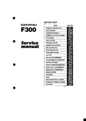 daihatsu f300 manuals rh manualslib com HP F300 Driver Time Attendance F300