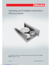 Miele ESW 6380 FB Operating And Installation Instructions