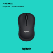 Logitech M185 Setup Manual