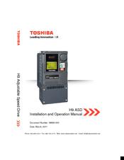 Adjustable Speed Drive EOI Remote Mounting Kit Toshiba G9//H9 ASD-MTG-KIT9