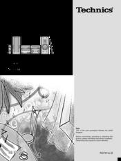 Technics SC-HD550 Manuals