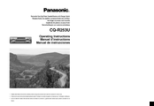 Panasonic CQ-R253U Operating Instructions Manual
