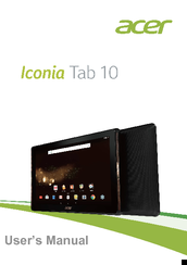 Android 4. 0 update available for more acer iconia tab a100 owners.
