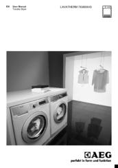 aeg lavatherm 76385ah3 manuals rh manualslib com