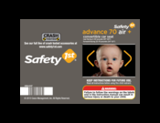 Manuals And User Guides For Safety 1st Advance 70 Air Plus We Have 1 Manual Available Free Pdf Instructions