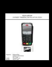 Ingenico FLEX IPP320 Manuals
