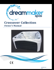 Dream Maker Spas Crossover Collection Manuals on