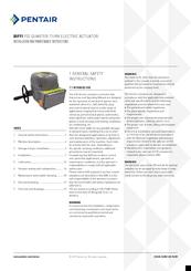 Pentair Biffi F02 Manuals Manualslib