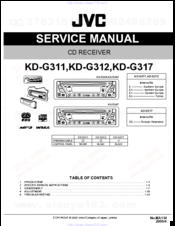 Jvc KD-G312 Manuals